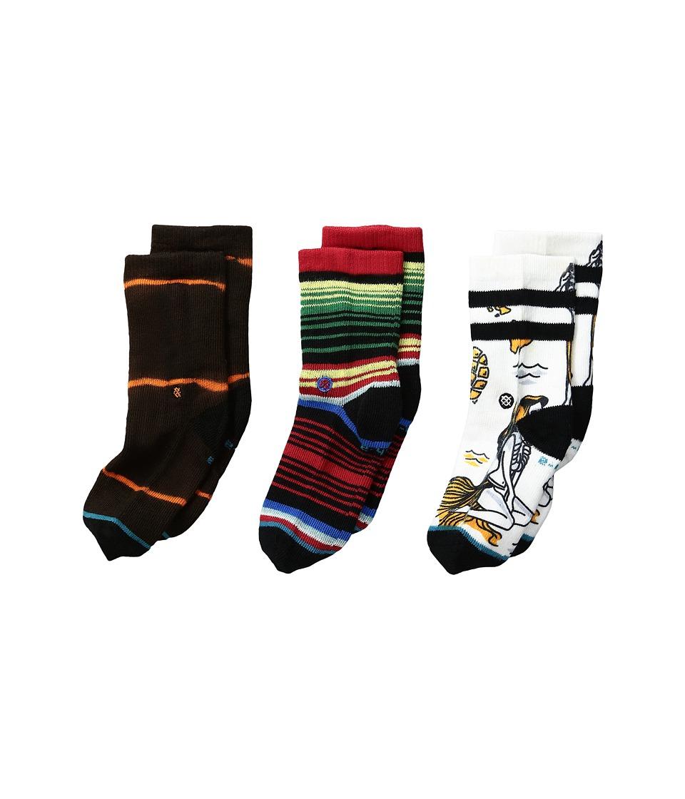 Stance - Chancho (Infant/Toddler) (White) Men's Crew Cut Socks Shoes