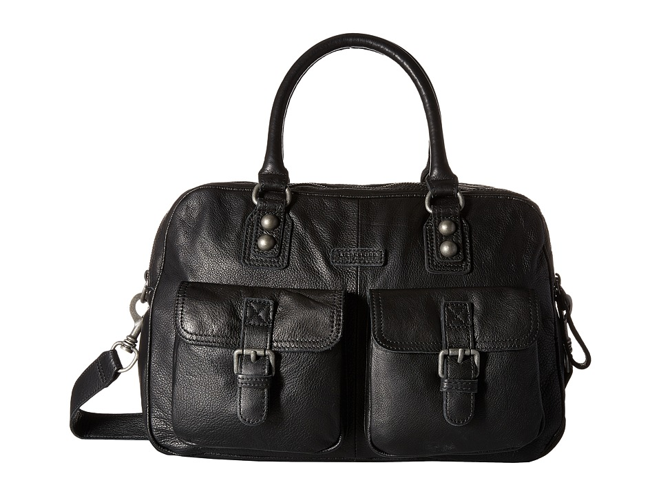 Liebeskind - Frida B Satchel (Black) Satchel Handbags