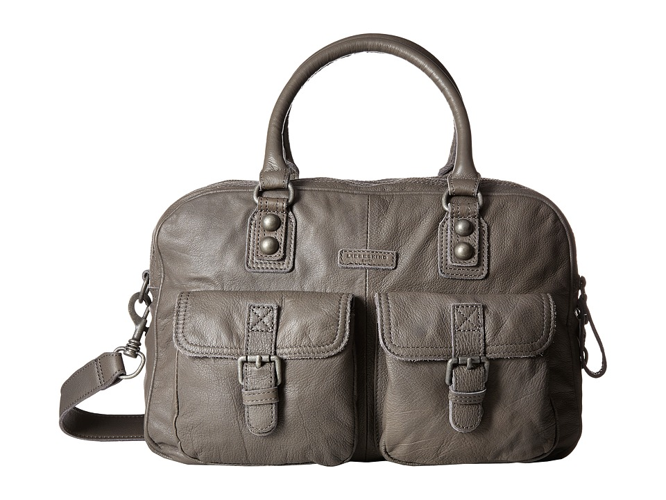 Liebeskind - Frida B Satchel (French Grey) Satchel Handbags