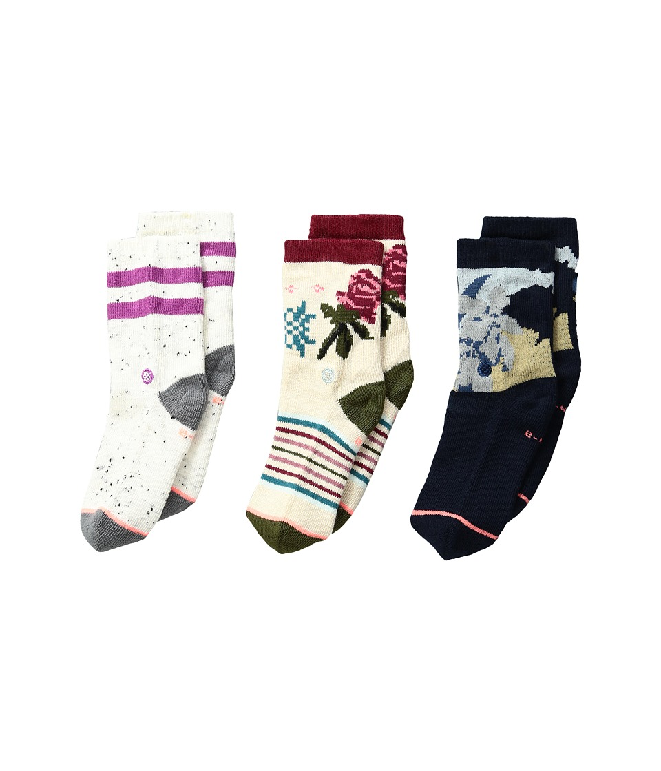Stance - Cuban Flower Box Set (Infant/Toddler) (Multi) Women's Crew Cut Socks Shoes
