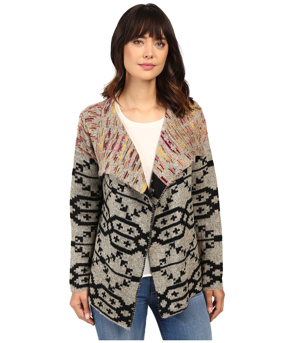 Brigitte Bailey - Clea Printed Cardigan (Multi) Women's Sweater