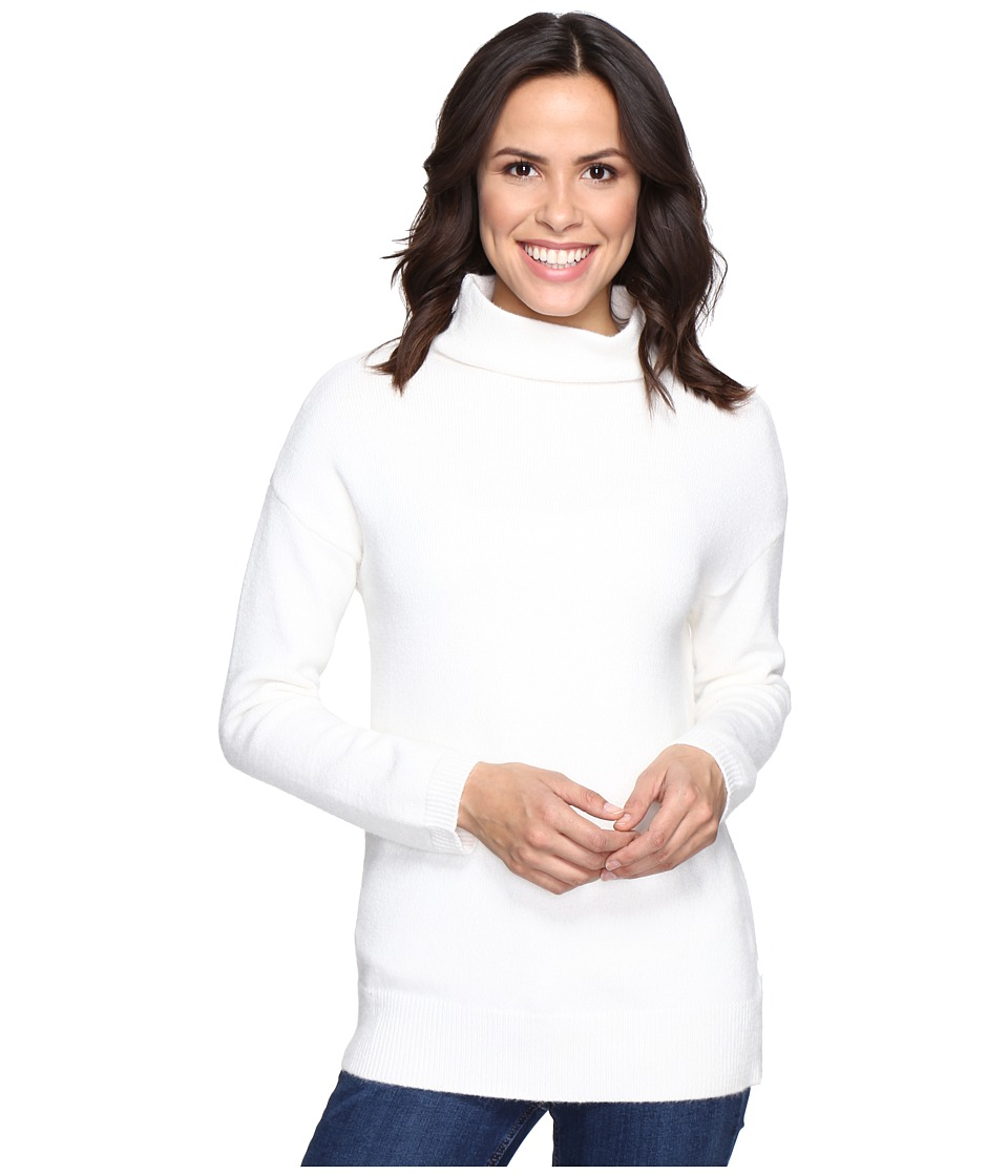 Brigitte Bailey - Dita High Neck Long Sleeve Sweater (Winter White) Women's Sweater