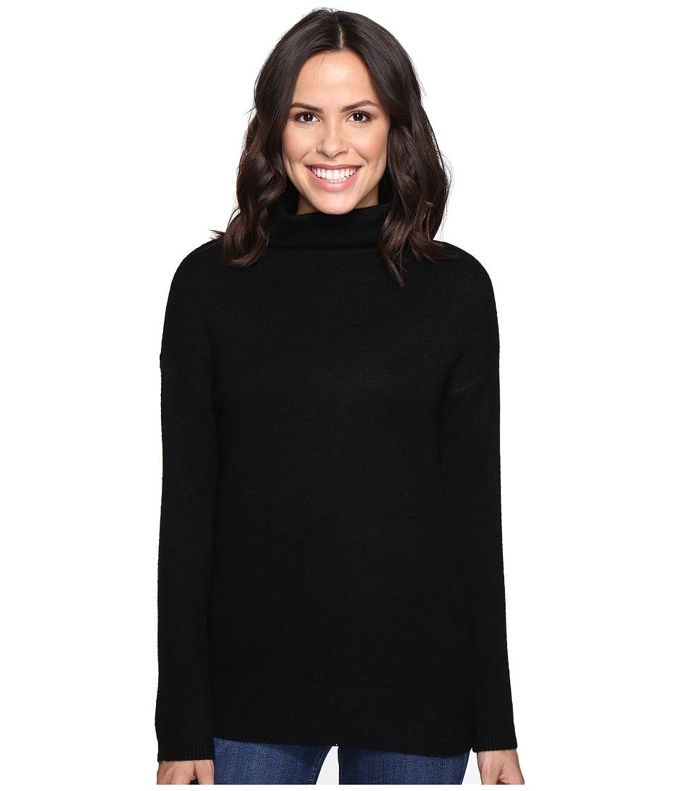 Brigitte Bailey - Dita High Neck Long Sleeve Sweater (Black) Women's Sweater