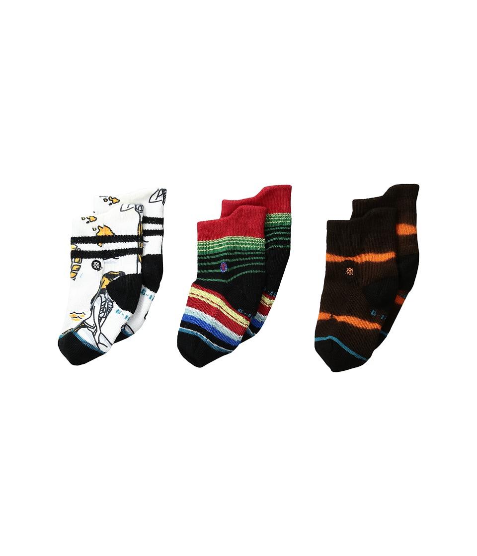 Stance - Chancho (Infant) (White) Men's Crew Cut Socks Shoes
