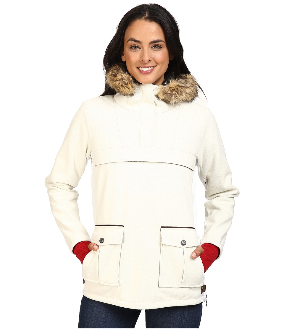 Dale of Norway - Fjellanorakk Jacket (Off-White/White Softshell) Women's Coat