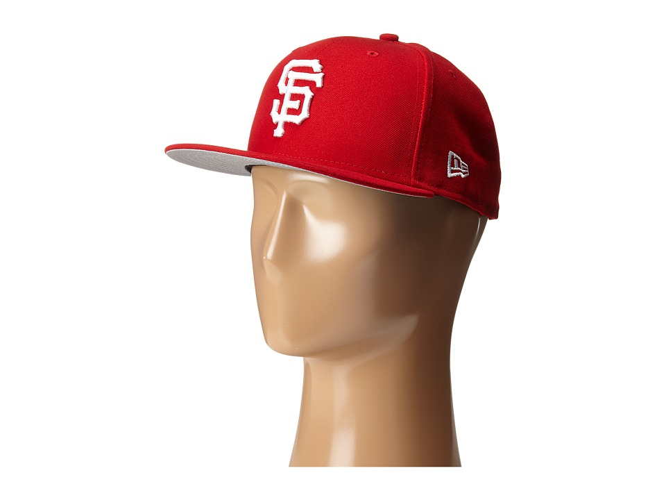 New Era - 59FIFTY San Francisco Giants (Red) Caps