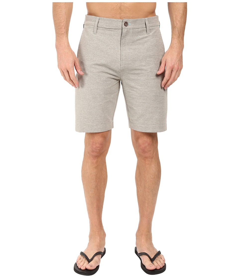 VISSLA - Snake Park 20 Hybrid Walkshort (Grey Heather) Men's Shorts
