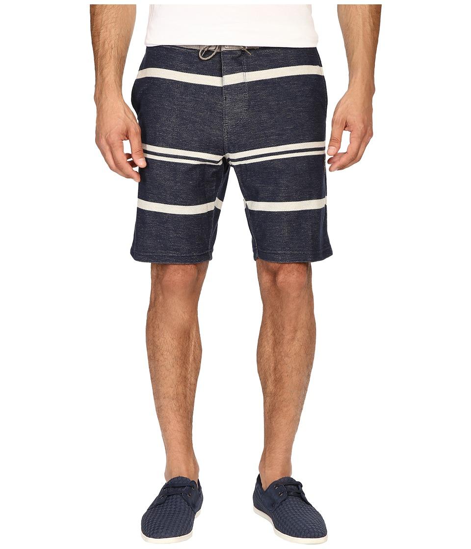 VISSLA - Sofa Surfer Los Tumbos Fleece Shorts (Dark Navy) Men's Shorts