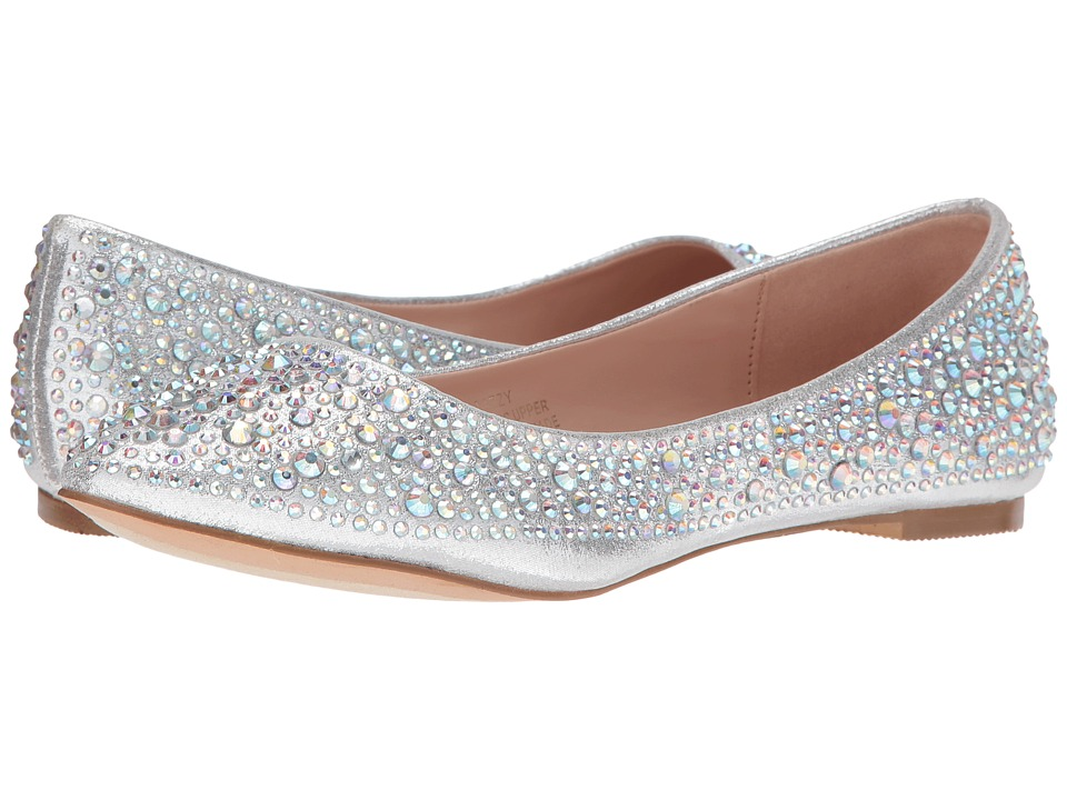 Lauren Lorraine - Lizzy (Silver) Women's Flat Shoes
