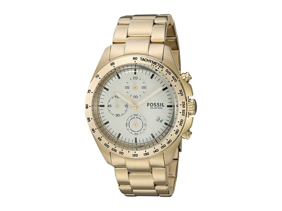 Fossil - Sport 54 - CH3037 (Champagne) Watches -  One Size