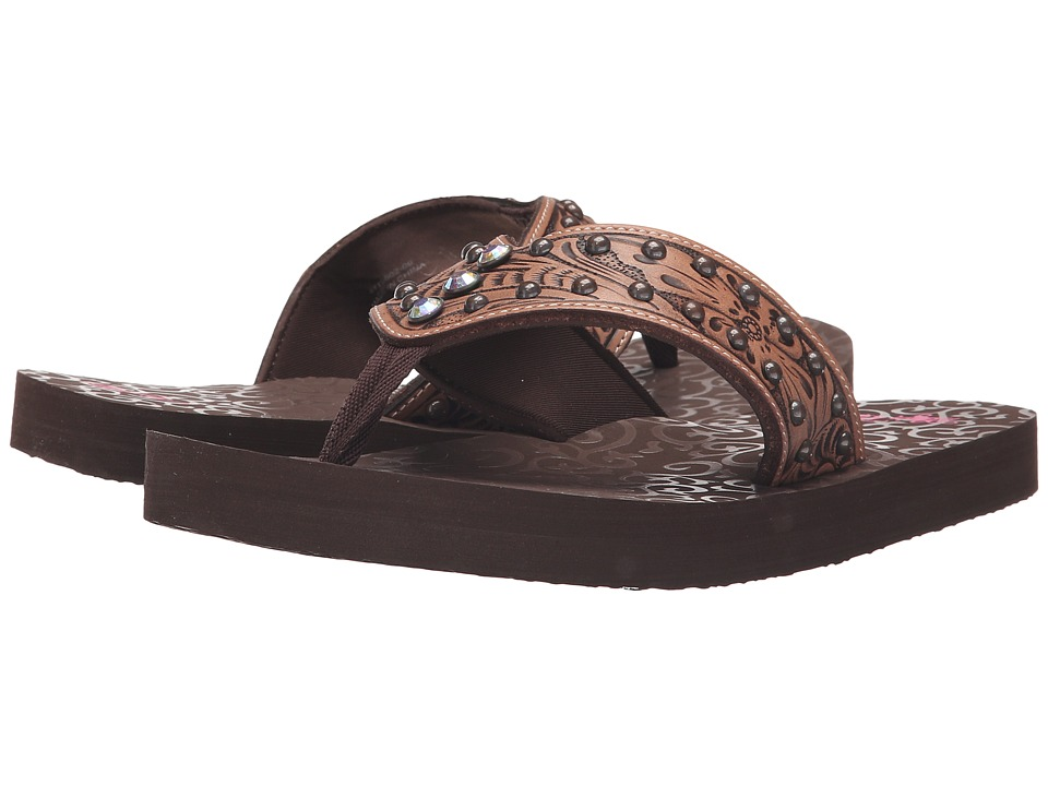 M&F Western - Montana (Brown) Women's Sandals