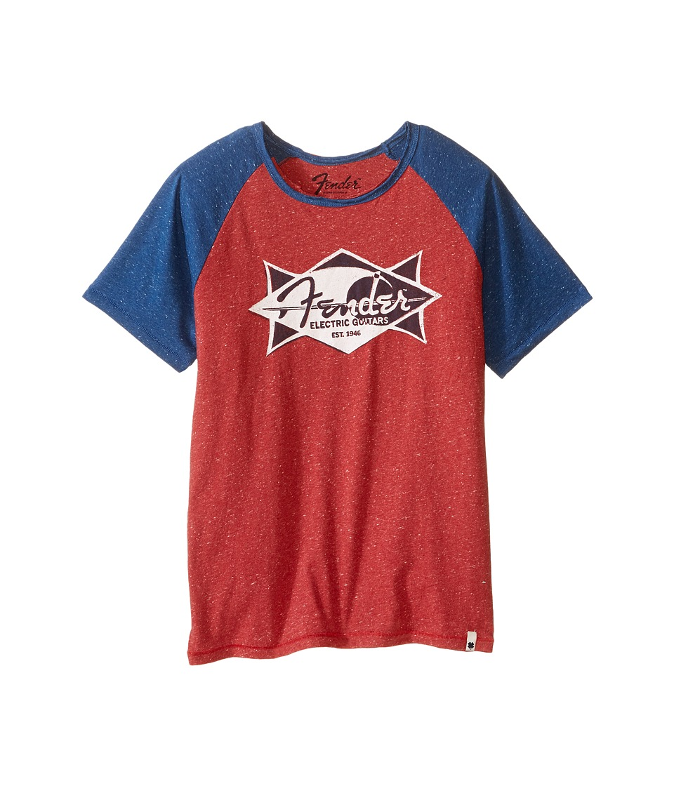 Lucky Brand Kids - Electric Tee (Big Kids) (Red Melange) Boy's T Shirt