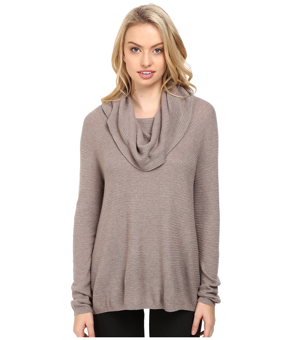 Joie - Palesa 6572-K2478 (Heather Mushroom) Women's Long Sleeve Pullover
