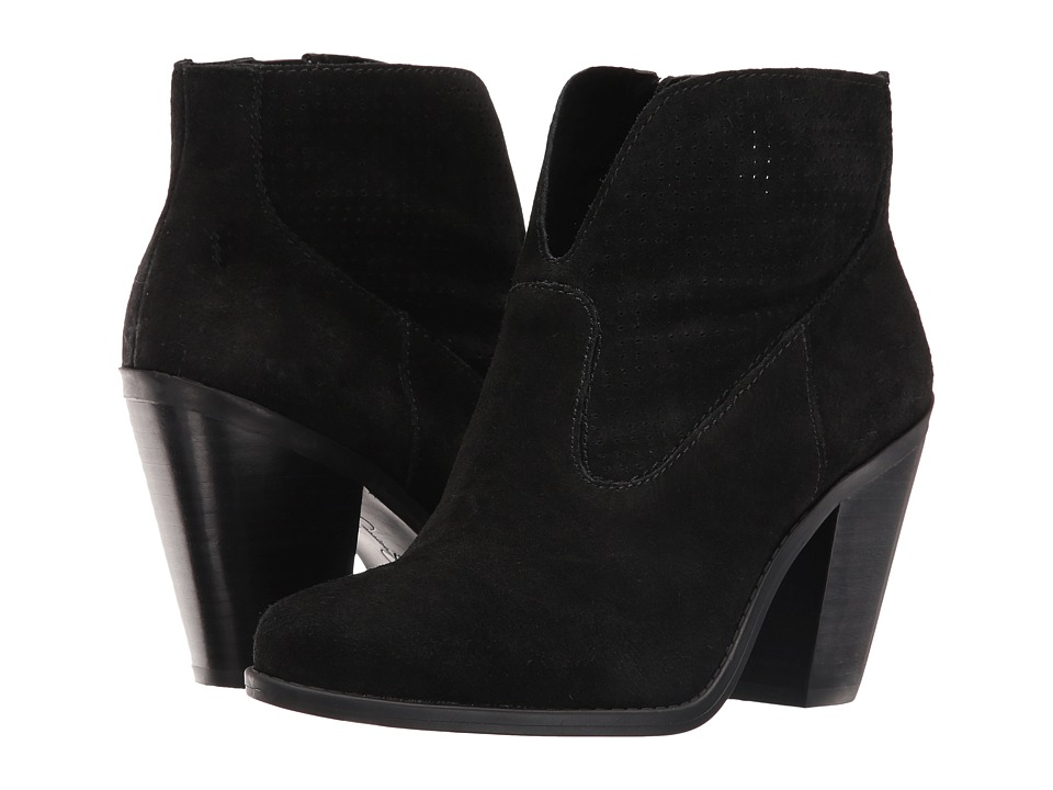 Jessica Simpson Caderian (Black Split Suede) Women