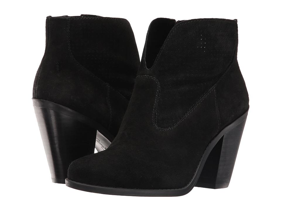 Jessica Simpson Caderian Black Split Suede Shoes
