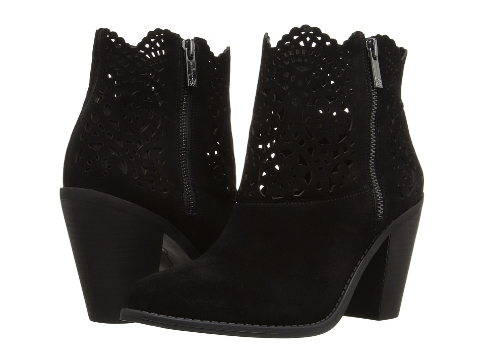 Jessica Simpson Cachelle (Black Split Suede) Women