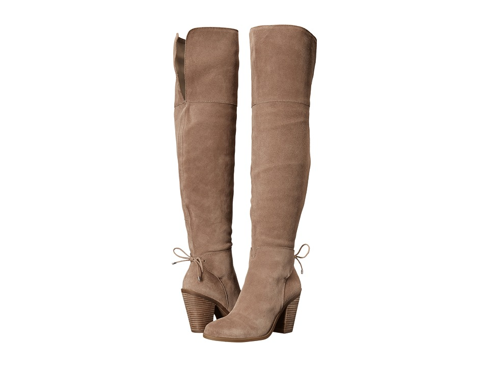 Jessica Simpson Cassina (Warm Taupe Split Suede) Women
