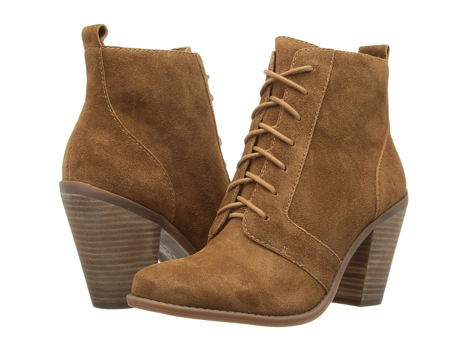 Jessica Simpson Channie (Canela Brown Split Suede) Women