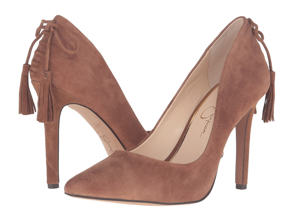 Jessica Simpson - Centella (Canela Brown Luxe Kid Suede) Women's Shoes