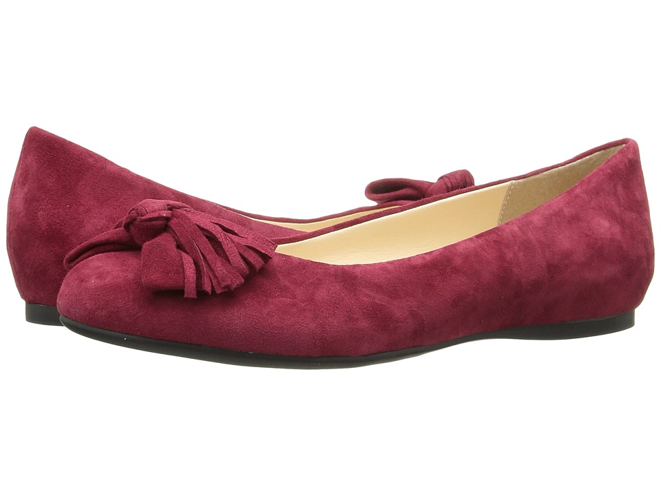 Jessica Simpson - Madian (Raging Red Luxe Kid Suede) Women's Shoes