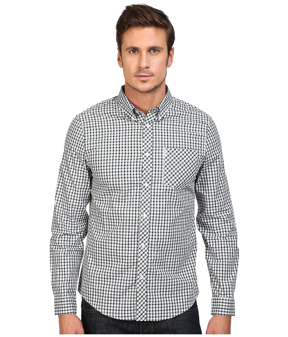 Ben Sherman - Long Sleeve House Check Woven Shirt (Pine Grove) Men's Long Sleeve Button Up
