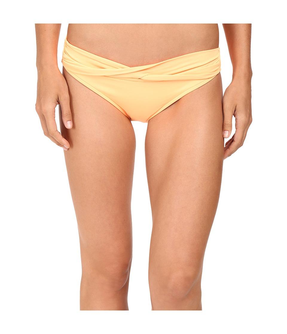 Seafolly - Twist Band Mini Hipster Bottom (Neon Mango) Women's Swimwear