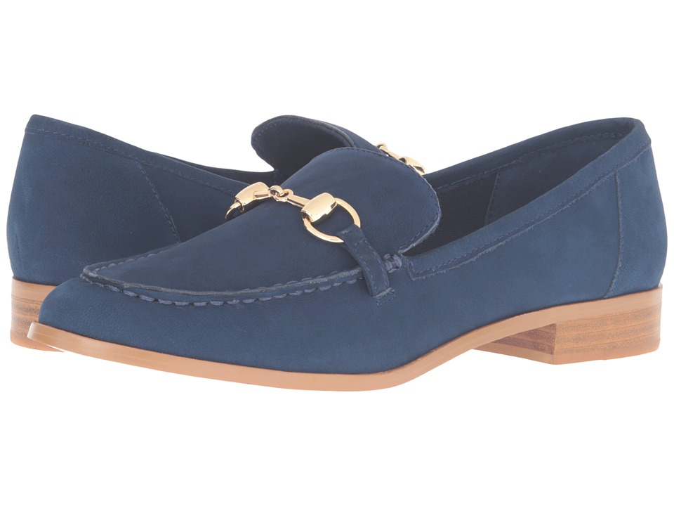 Steven - Quebec (Blue Nubuck) Women's 1-2 inch heel Shoes