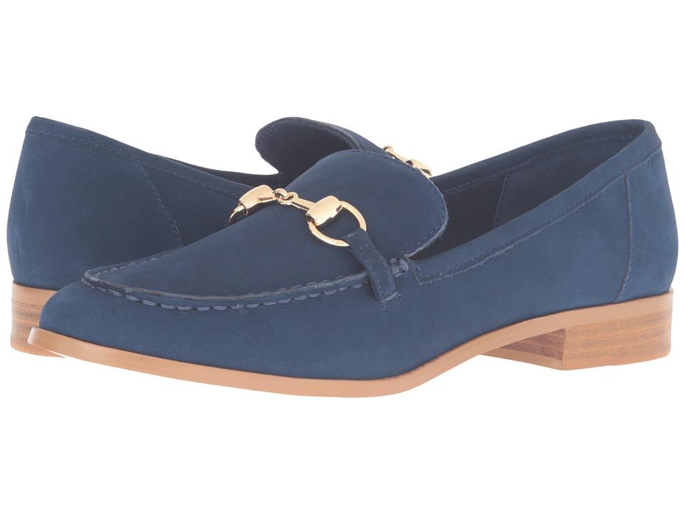 Steven - Quebec (Blue Nubuck) Women's 1-2 inch heel Shoes