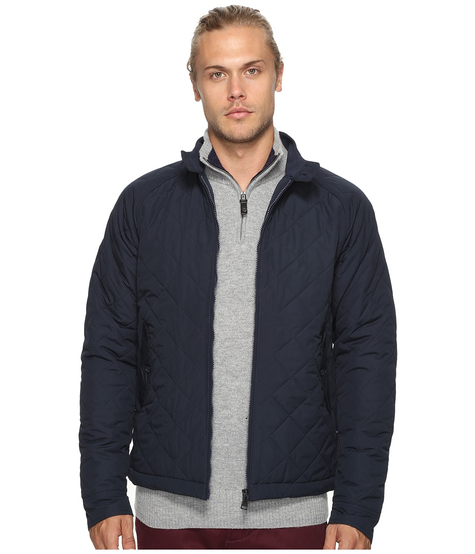 Ben Sherman - Quilted Harrington Jacket (Navy Blazer) Men's Coat