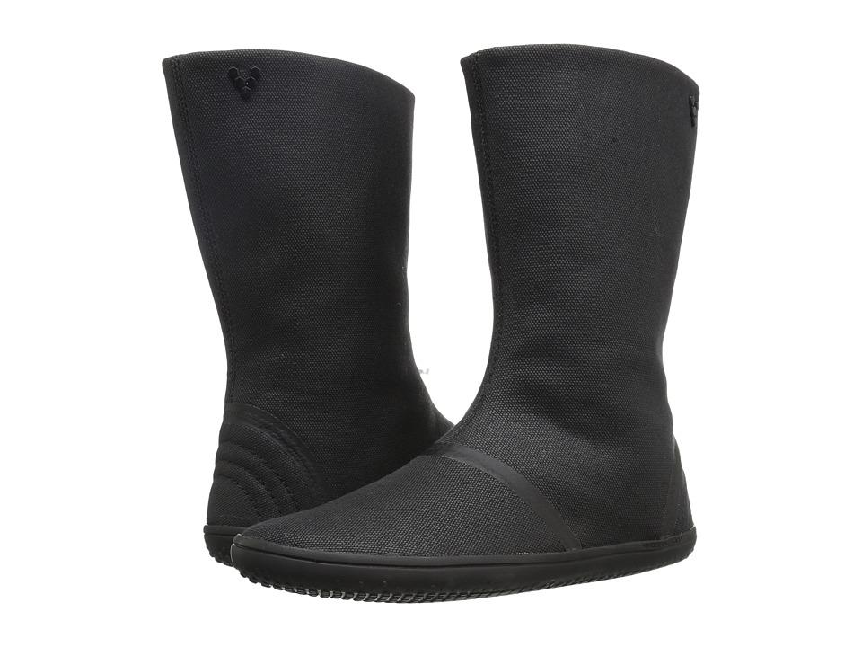 Vivobarefoot - Tabi High (Black) Women's Pull-on Boots