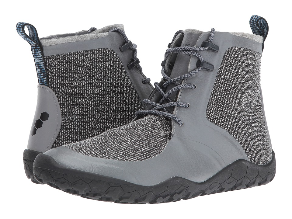 Vivobarefoot - Saami Lite (Grey) Women's Lace-up Boots