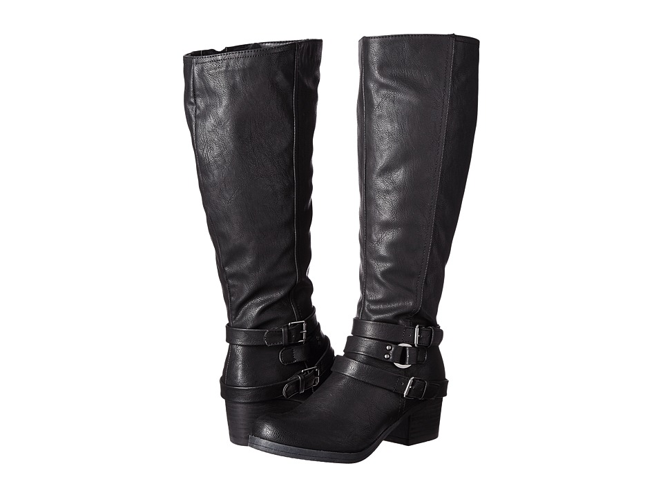 CARLOS by Carlos Santana - Camdyn Wide Calf (Black) Women's Boots