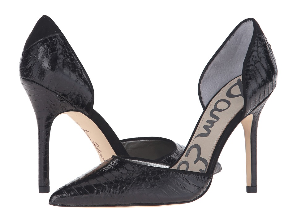 Sam Edelman - Delilah (Black Marble) High Heels