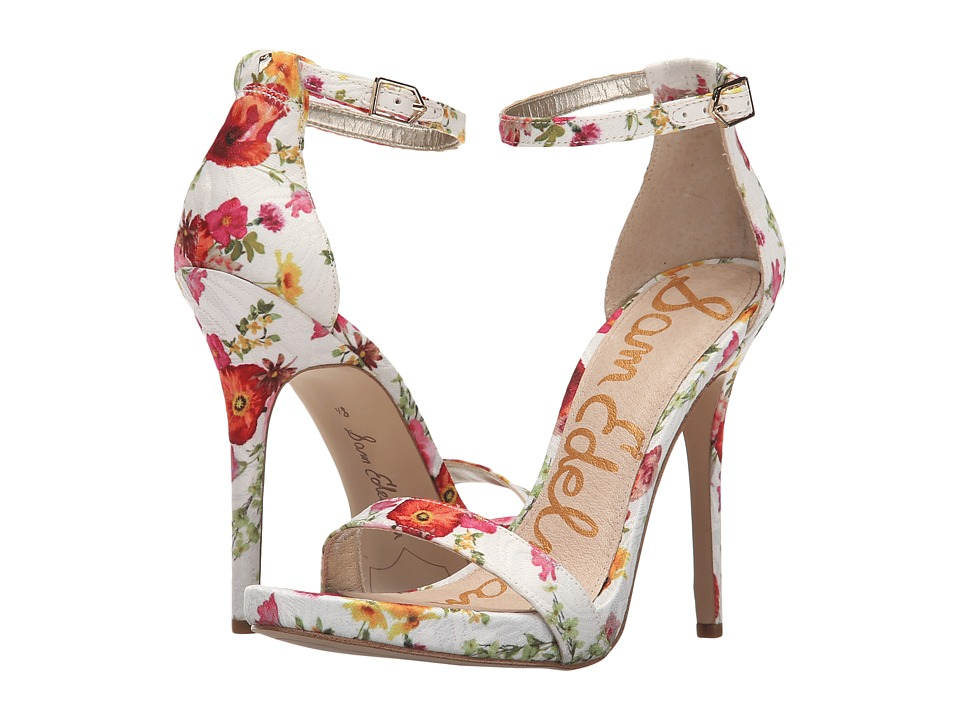 Sam Edelman - Eleanor (White Garden of Poppy) High Heels