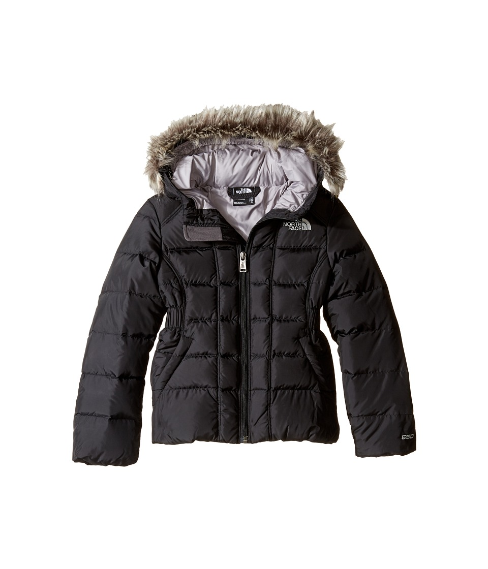 The North Face Kids - Gotham Jacket (Little Kids/Big Kids) (TNF Black/Metallic Silver) Girl's Coat