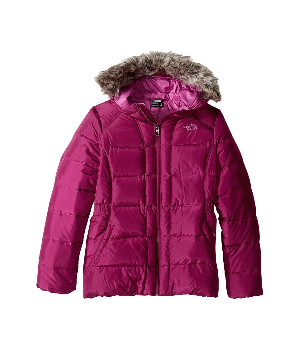 The North Face Kids - Gotham Jacket (Little Kids/Big Kids) (Roxbury Pink) Girl's Coat