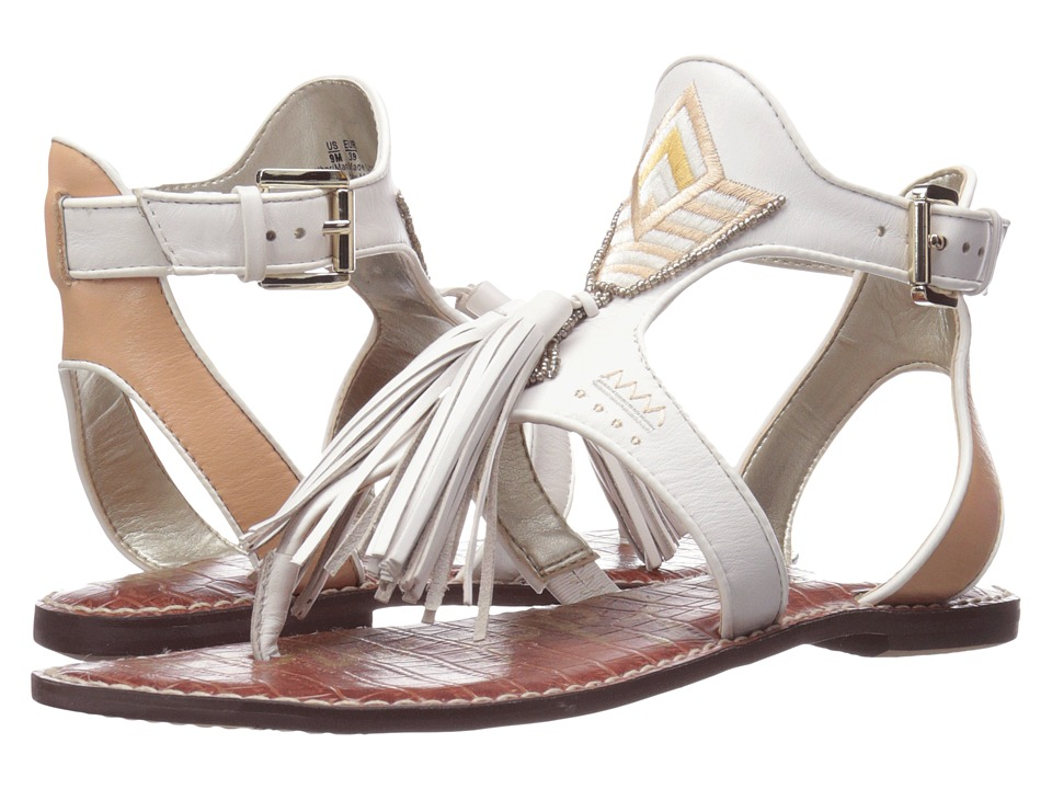Sam Edelman - Giblin (Bright White Leather) Women's Sandals