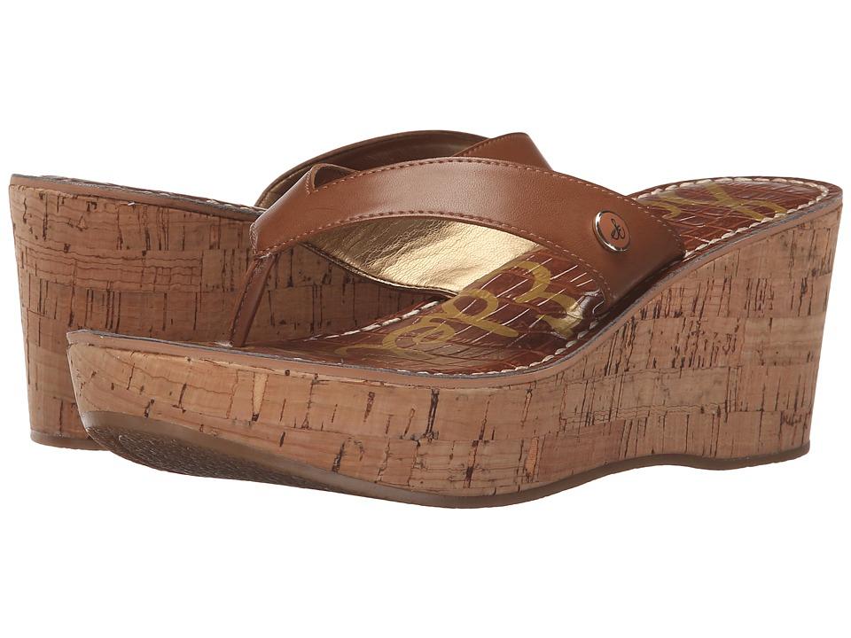 Sam Edelman - Romy (Saddle Leather) Women's Wedge Shoes