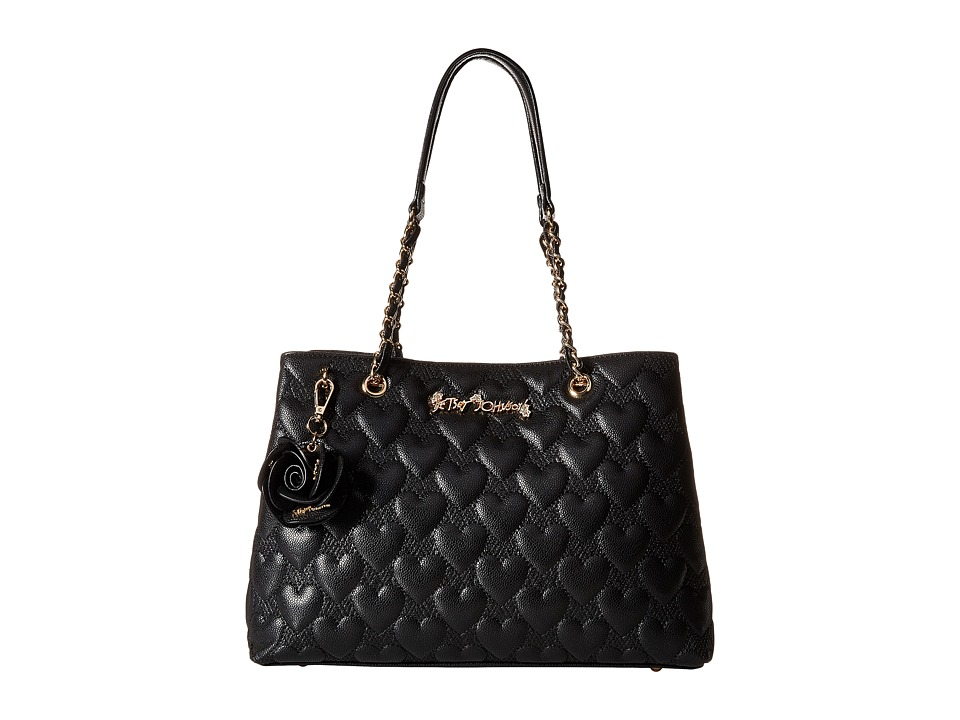 Betsey Johnson - Bee Mine Tote (Black) Tote Handbags