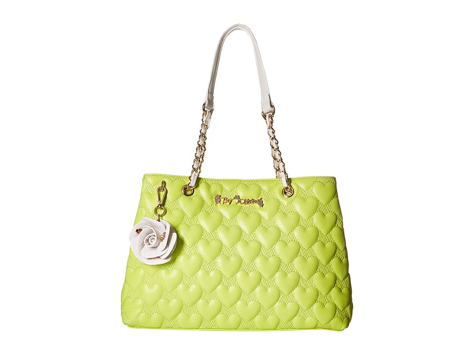 Betsey Johnson - Bee Mine Tote (Citron) Tote Handbags