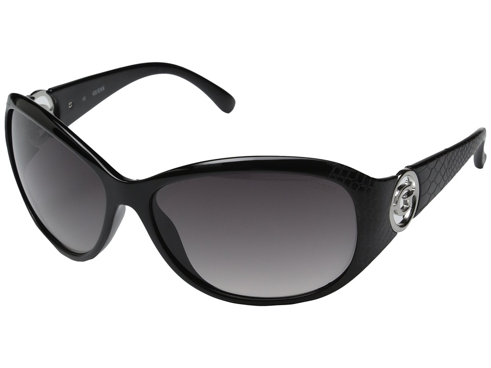 GUESS - GU7309 (Black/Smoke Gradient Lens) Fashion Sunglasses
