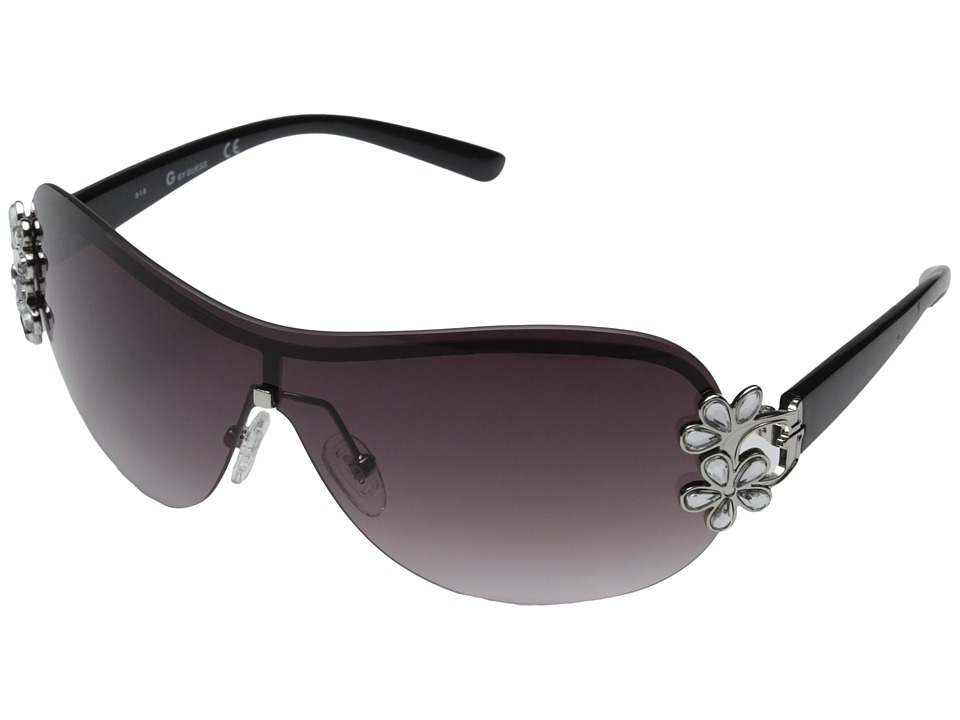GUESS - GGU111 (Silver/Smoke Gradient Lens) Fashion Sunglasses