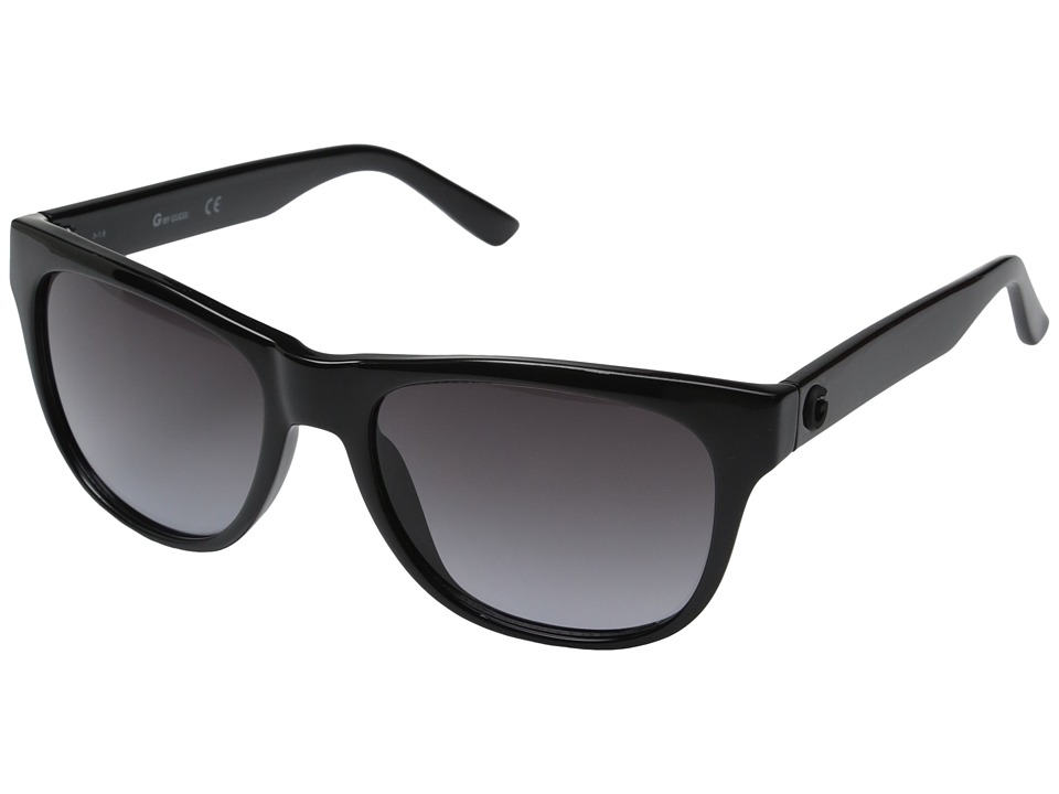 GUESS - GG1127 (Black/Smoke Gradient Lens) Fashion Sunglasses