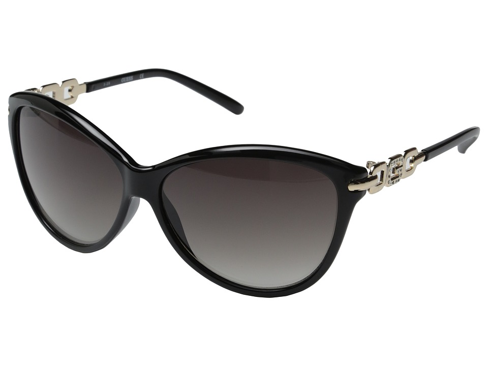 GUESS - GU7288 (Black/Smoke Gradient Lens) Fashion Sunglasses