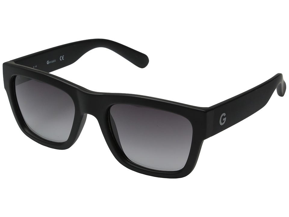 GUESS - GG2106 (Matte Black/Smoke Gradient Lens) Fashion Sunglasses