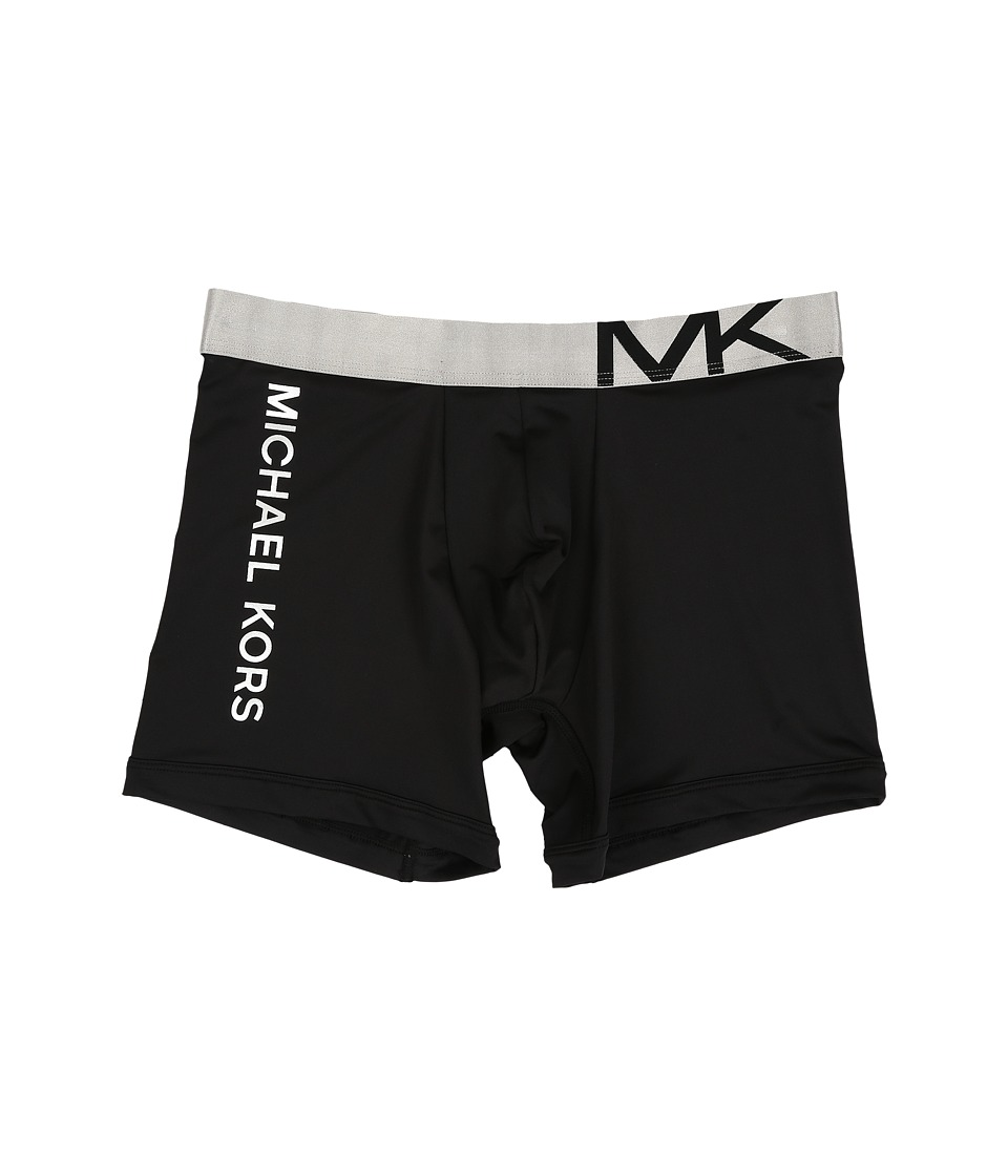 Michael Kors - Statement Icon Boxer Brief (Black) Men's Underwear