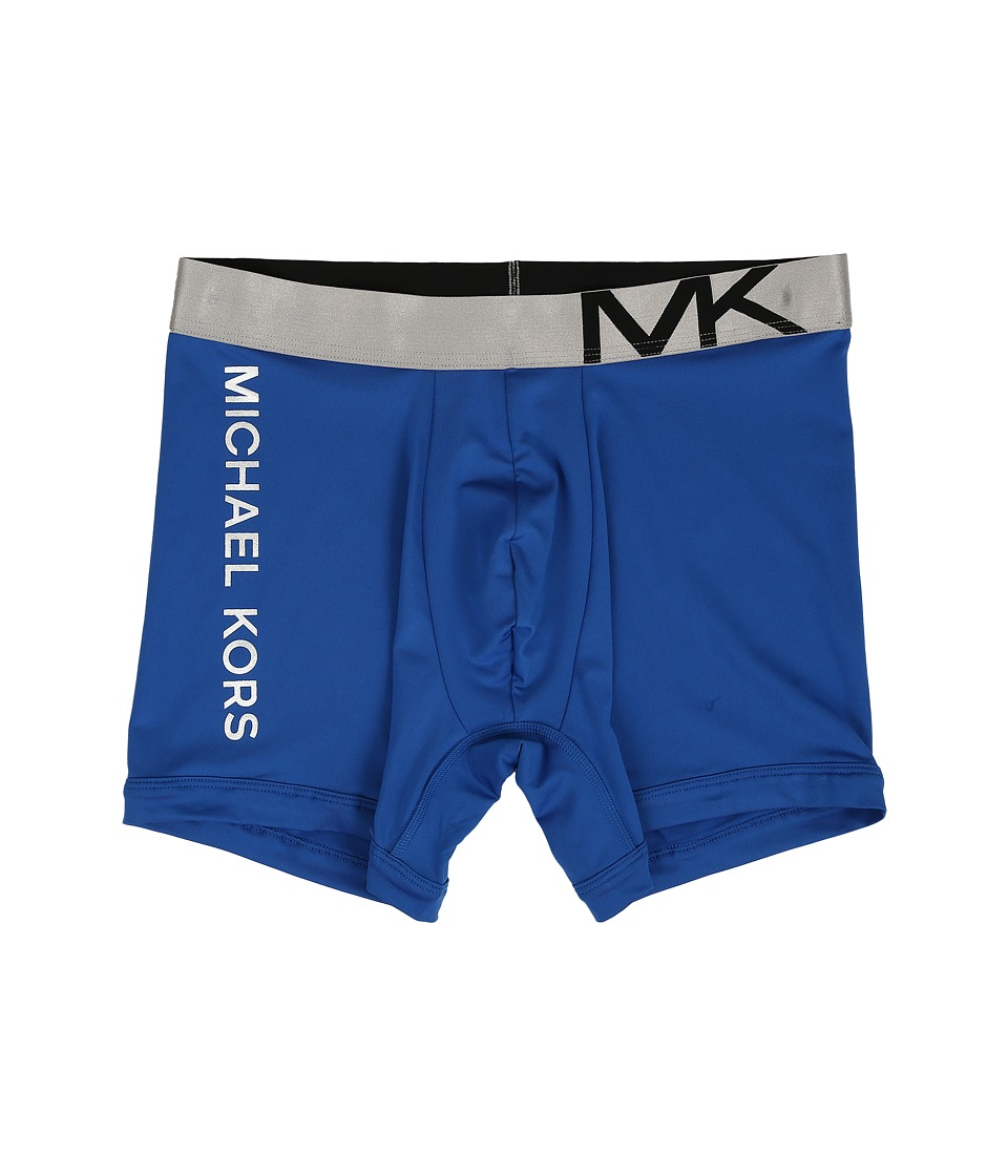 Michael Kors - Statement Icon Boxer Brief (Blue) Men's Underwear