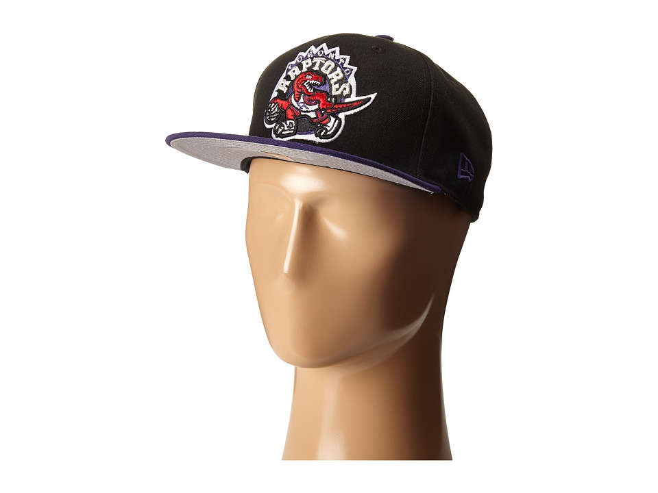 New Era - Two-Tone Toronto Raptors (Black) Baseball Caps