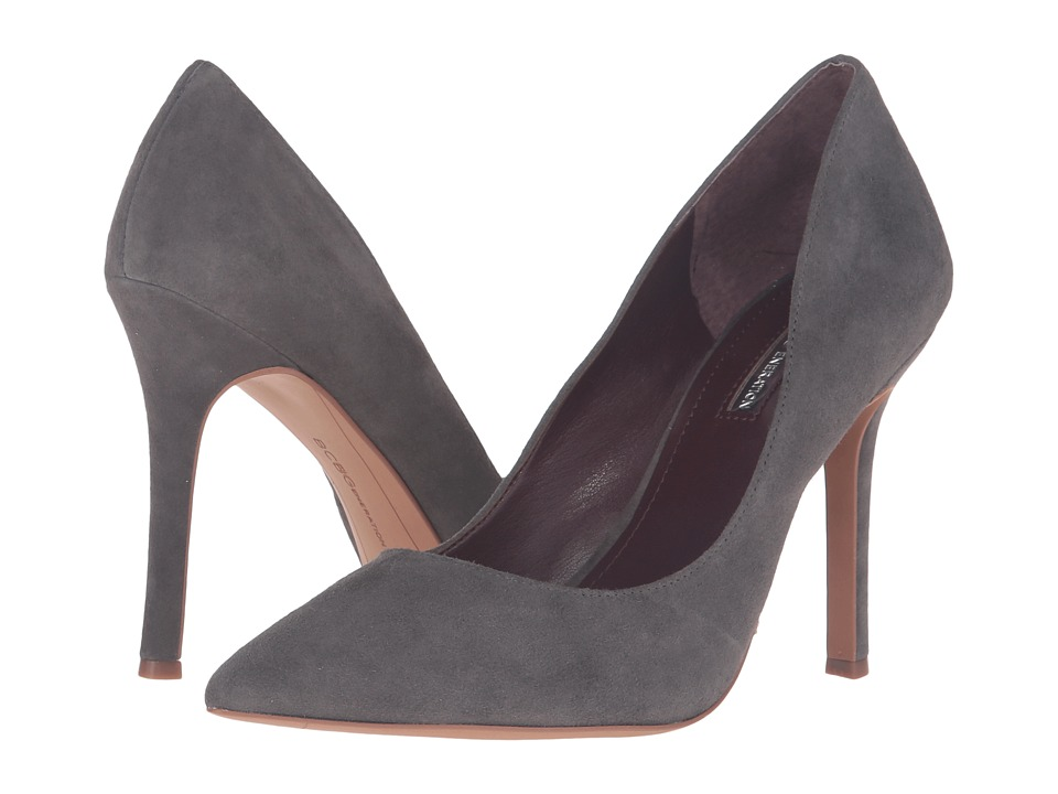 BCBGeneration - Treasure (Steel Lux Kid Suede) High Heels
