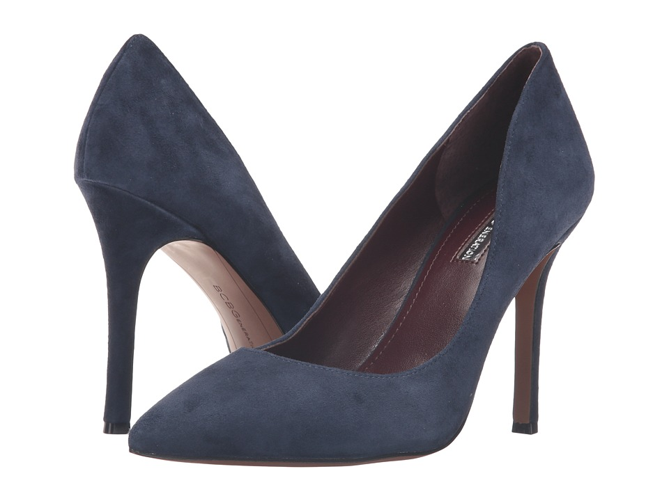 BCBGeneration - Treasure (Navy Lux Kid Suede) High Heels